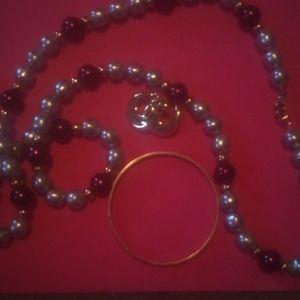 Monet jewery bracelet necklace